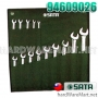 SATA 94609026 combination wrench set 14PC.
