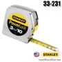ตลับเมตร    3m. STANLEY measuring tape Power Lock 33-231