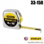 ตลับเมตร   5m. STANLEY measuring tape powerlock 33-158