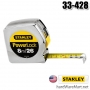 ตลับเมตร   8m. STANLEY measuring tape Power Lock 33-428